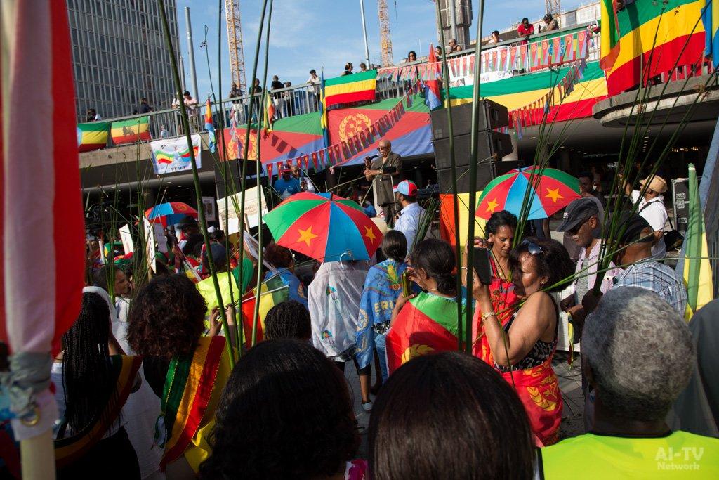 Eritrea Ethiopia Peace Manifestation